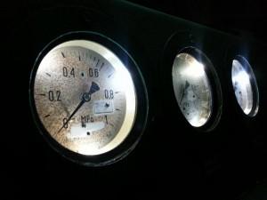Diodowe oświetlenie manometrów